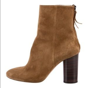 Isabel Marant Garett brown suede ankle boots